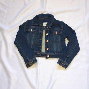 Cherokee Cropped Jean Jacket